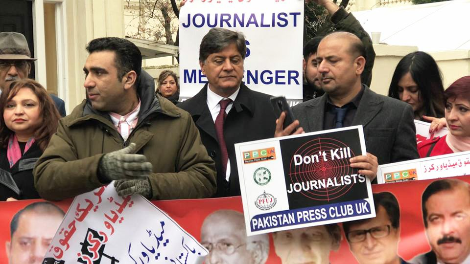 Don't kill #journalists, a message by #ppcuk