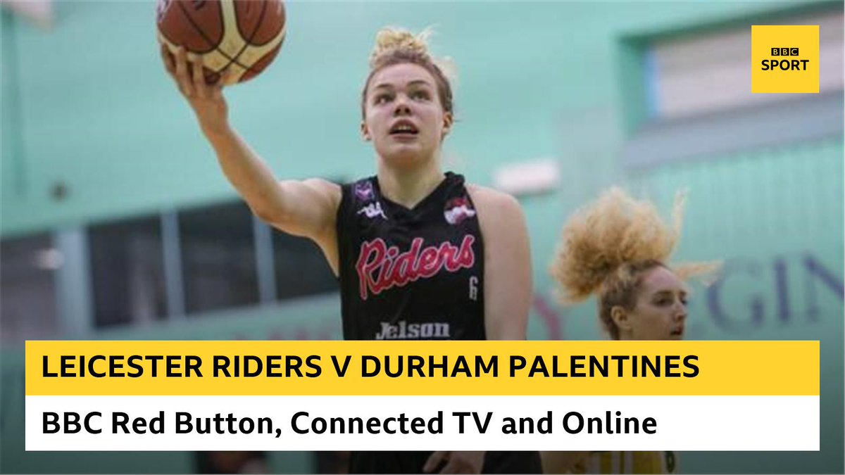 Leicester Riders take on Durham Palatinates in the WBBL Trophy final 🏀🏀  Watch here and on @BBCRedButton: https://t.co/VDaZfmHjXS https://t.co/gxwyYpGvUu