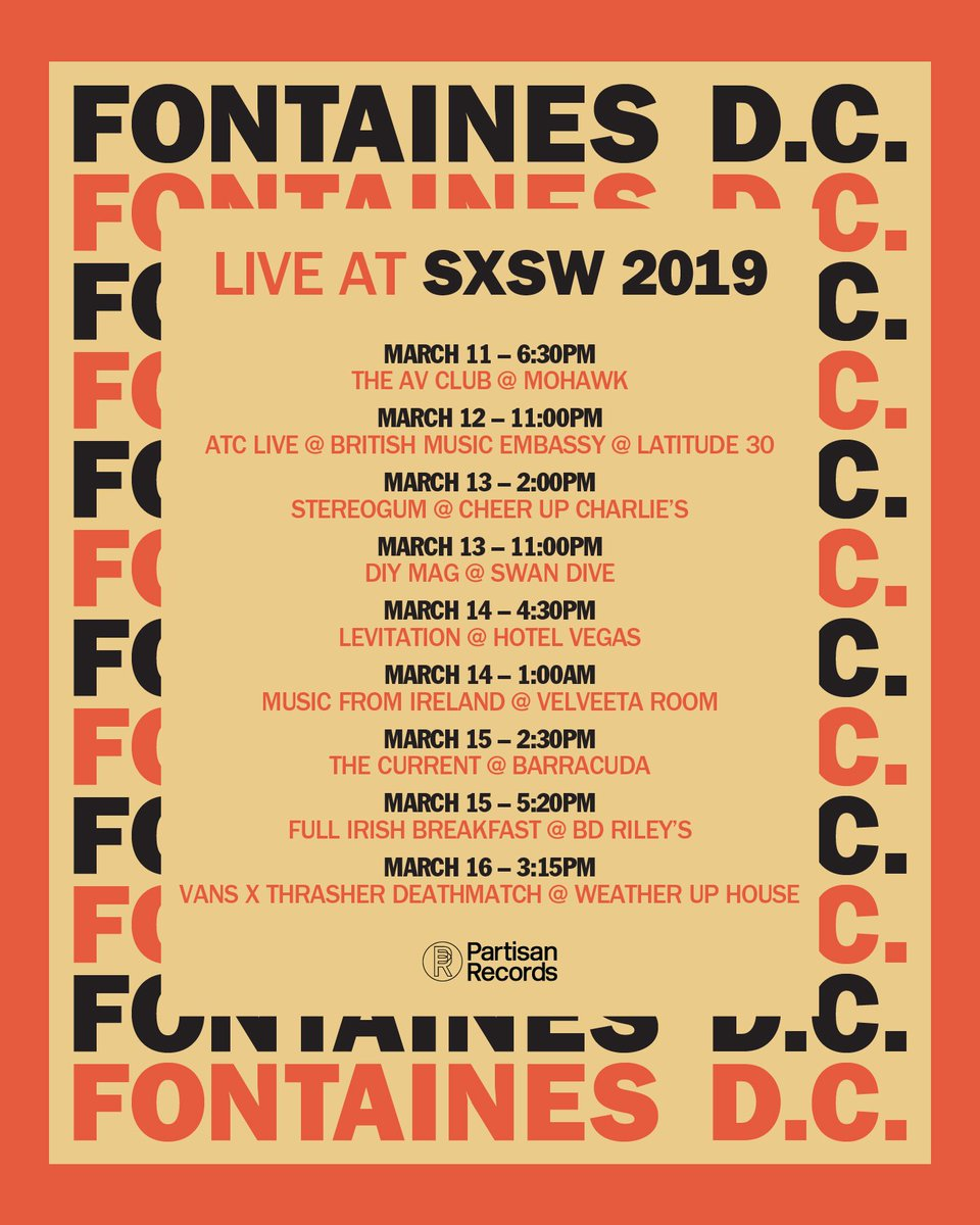 SXSW shows happening this week