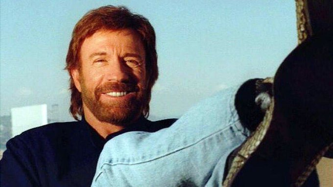 Happy Birthday to Chuck Norris. One of the coolest/nicest celebs I ever met...