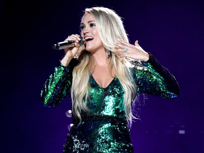 Happy Birthday to Miss Carrie Underwood! The singer-songwriter turns 36 today.