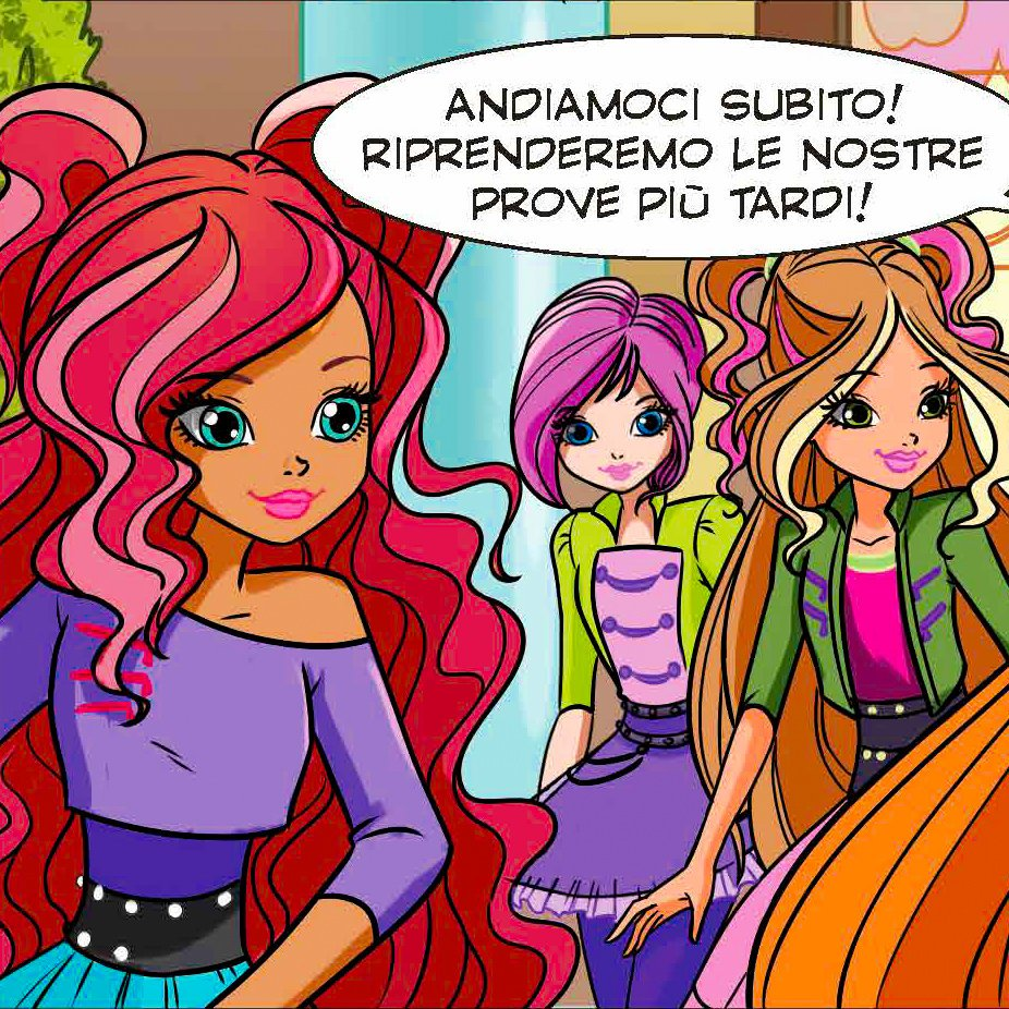 🔹 Season 8 comic with Butterflix of the new Winx Magazine
