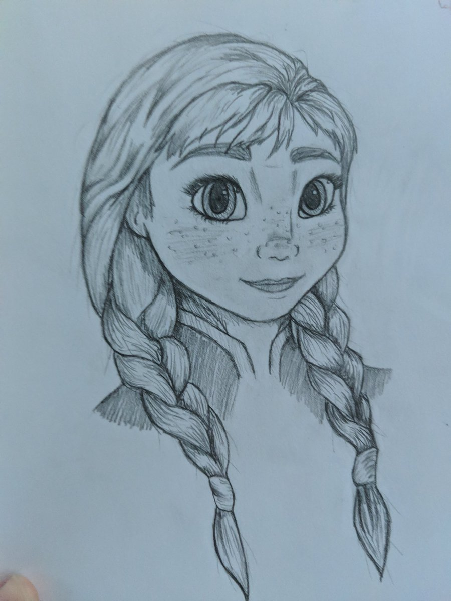 My 15 year old daughter Drew this @IMKristenBell