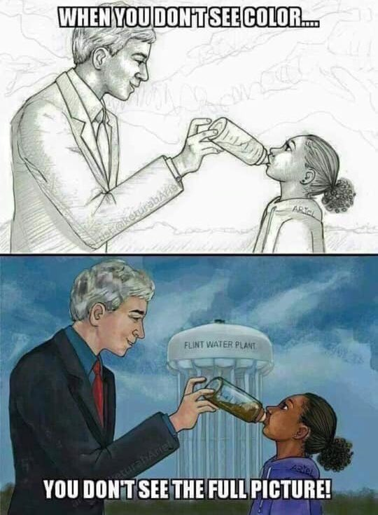 Flint, MI a city predominately made up of POC is going on 5 years w/o clean water. #DoesItBotherAnyone?   #AMJoy  #SundayMorning  #SundayMotivation  #SundayThoughts<br>http://pic.twitter.com/mWm8HDZski