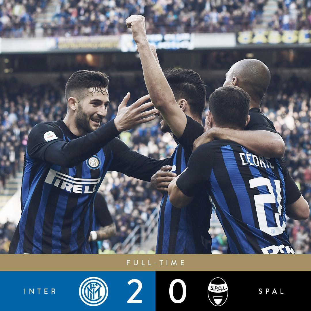 Serie A : l'Inter rebondit contre la SPAL