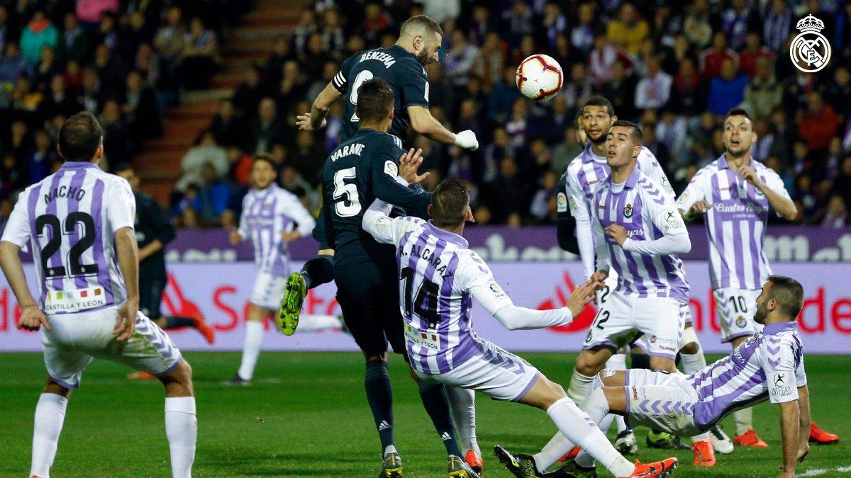 Xem lại Valladolid vs Real Madrid, 2h45 ngày 11/3 (La Liga)