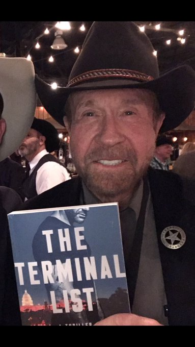 Happy Birthday Chuck Norris! Thank you for all your support of The Terminal List!