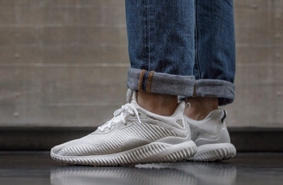 63f37778e169c Sunday Steal... Adidas AlphaBOUNCE Off White Silver Met ONLY £43 ...