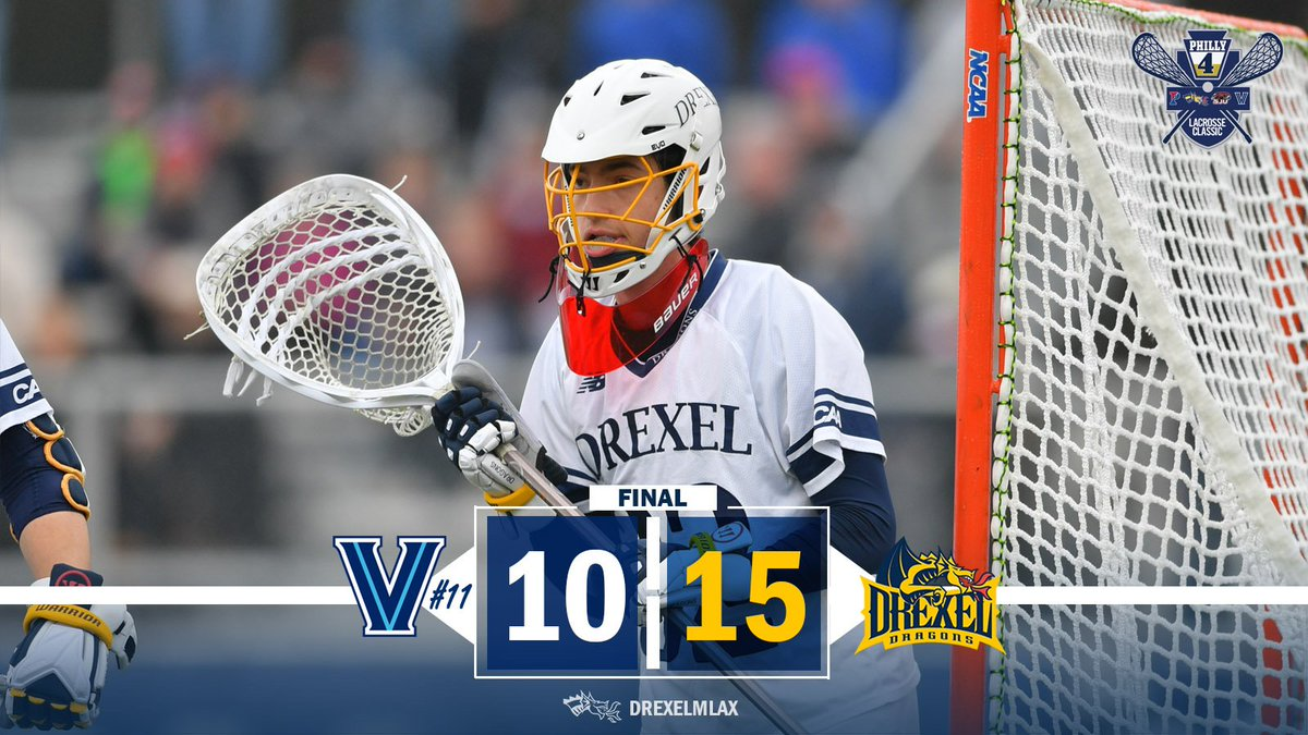 Drexel Men S Lax On Twitter Let S Gooooooo Drexel Takes Down No 11 Villanova From Vidas Field At The Philly 4 Lacrosse Classic On Sunday Ncaa division i men's lacrosse championship. twitter