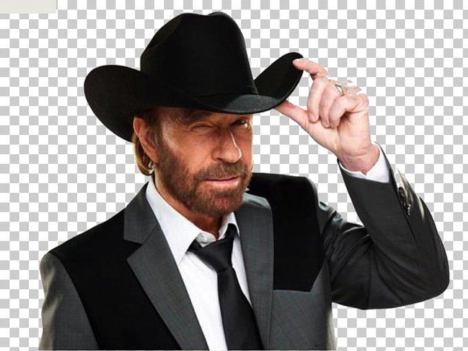 "Happy birthday to \""Texas Ranger\"", Chuck Norris!"