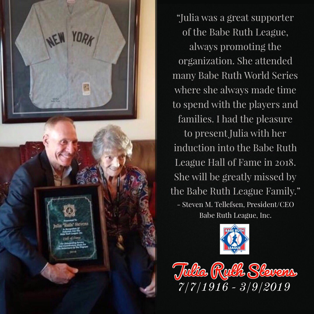 Babe Ruth League (@BabeRuthLeague) | Twitter