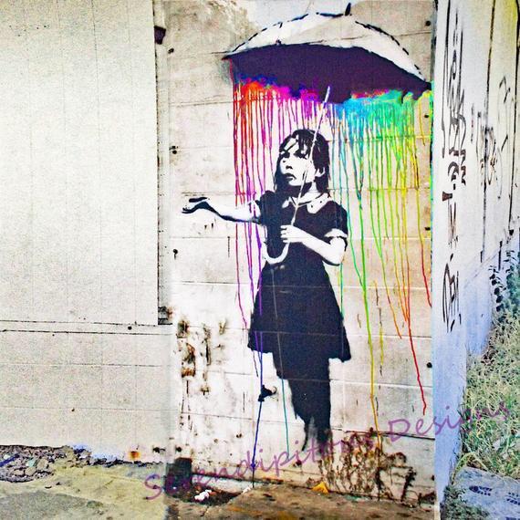 Cholerniejszy Banksy.