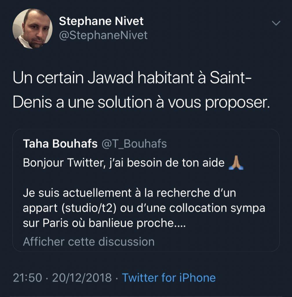 Donc @stephanenivet le directeur de la communication de la @_LICRA_ qui se trouve aussi être membre du @printempsrepub trouve pertinent d'assimiler les arabes à des terroristes.  C'est sensé être une association antiraciste.  Je suis scandalisé, Des sanctions doivent être prises.