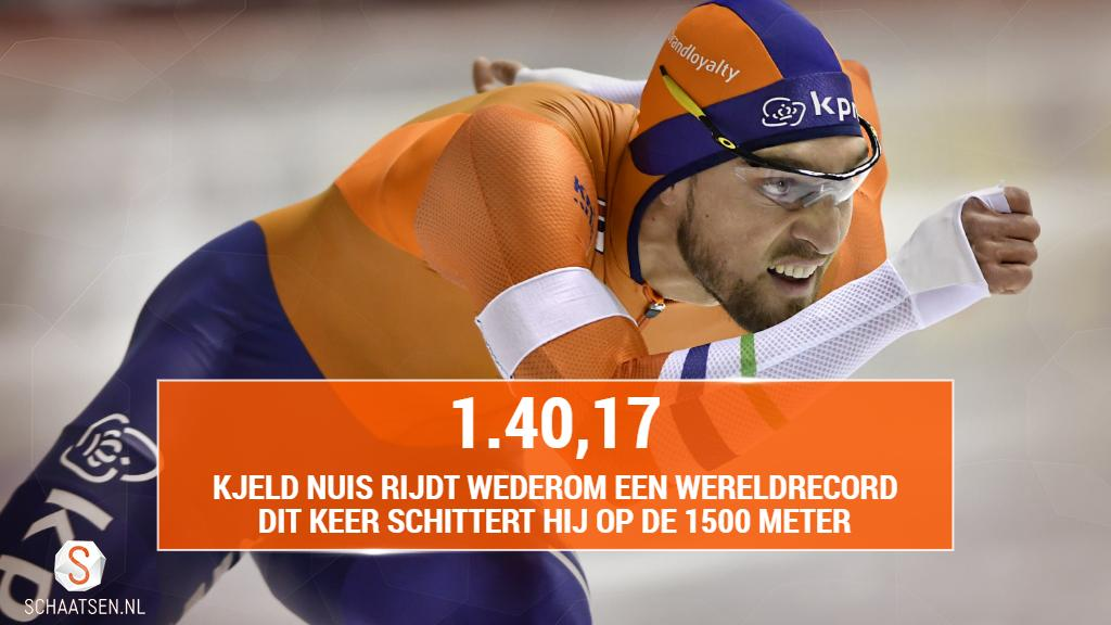 schaatsen.nl's photo on Kjeld Nuis