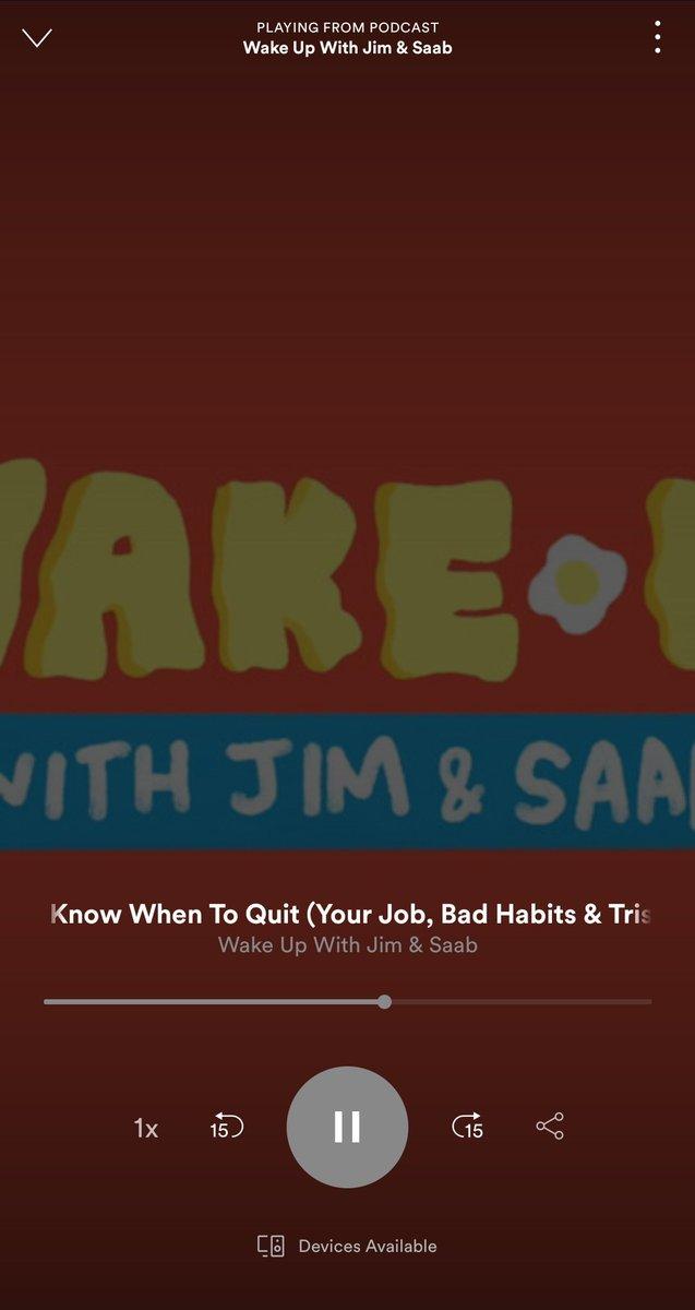 Sooooobrang ganda ng episode na 'to. #WakeUpWithJimAndSaab