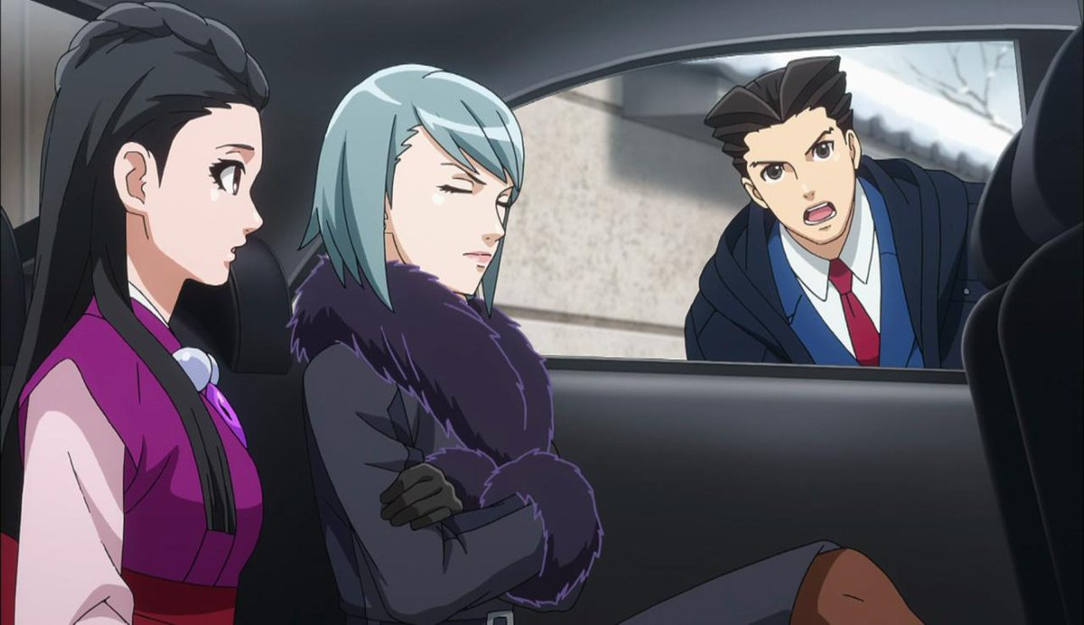 Lemedy On Twitter Ace Attorney Anime First Of All I D Like To