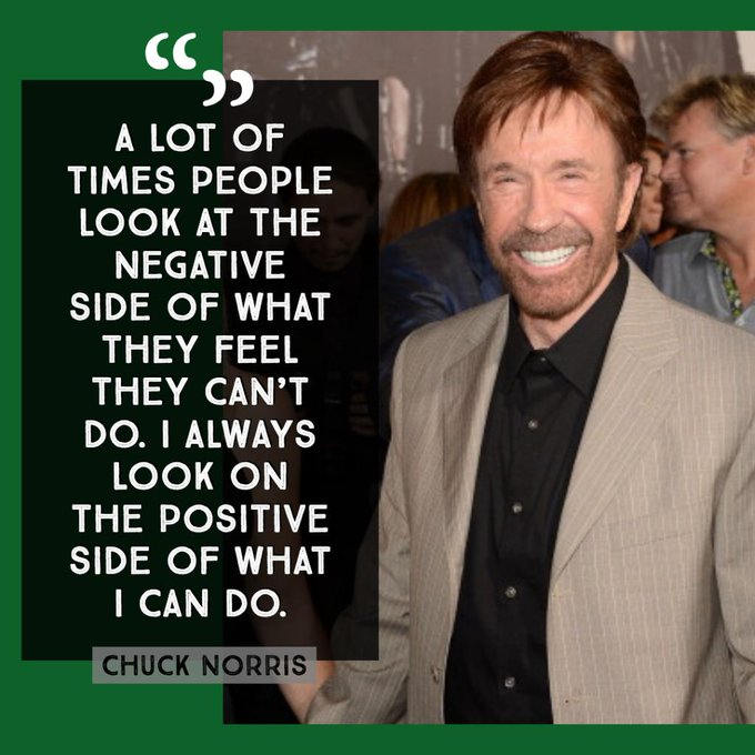 Happy birthday, Texas Ranger. Chuck Norris celebrates his 79th birthday Sunday.
