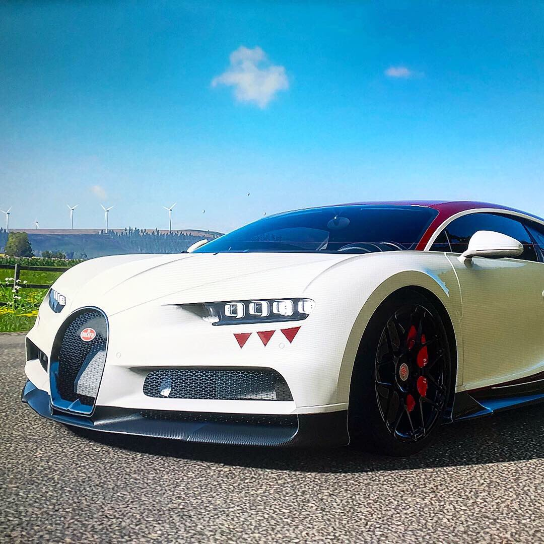 Here's my @Bugatti  Chiron in Forza Horizon 4. Such a beautiful car. 😍 https://t.co/1sIDz7cVT5