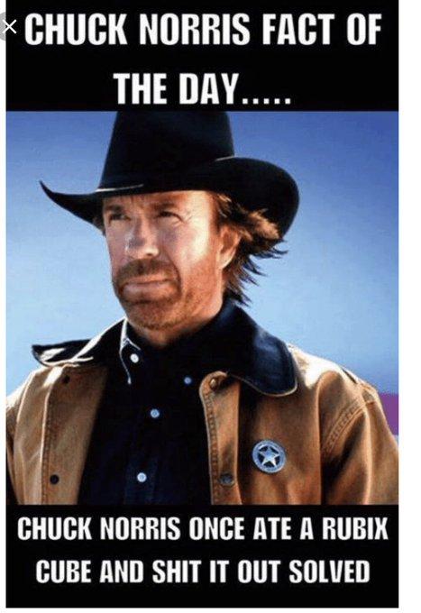 Happy birthday  Love a good Chuck Norris joke - always makes me giggle!