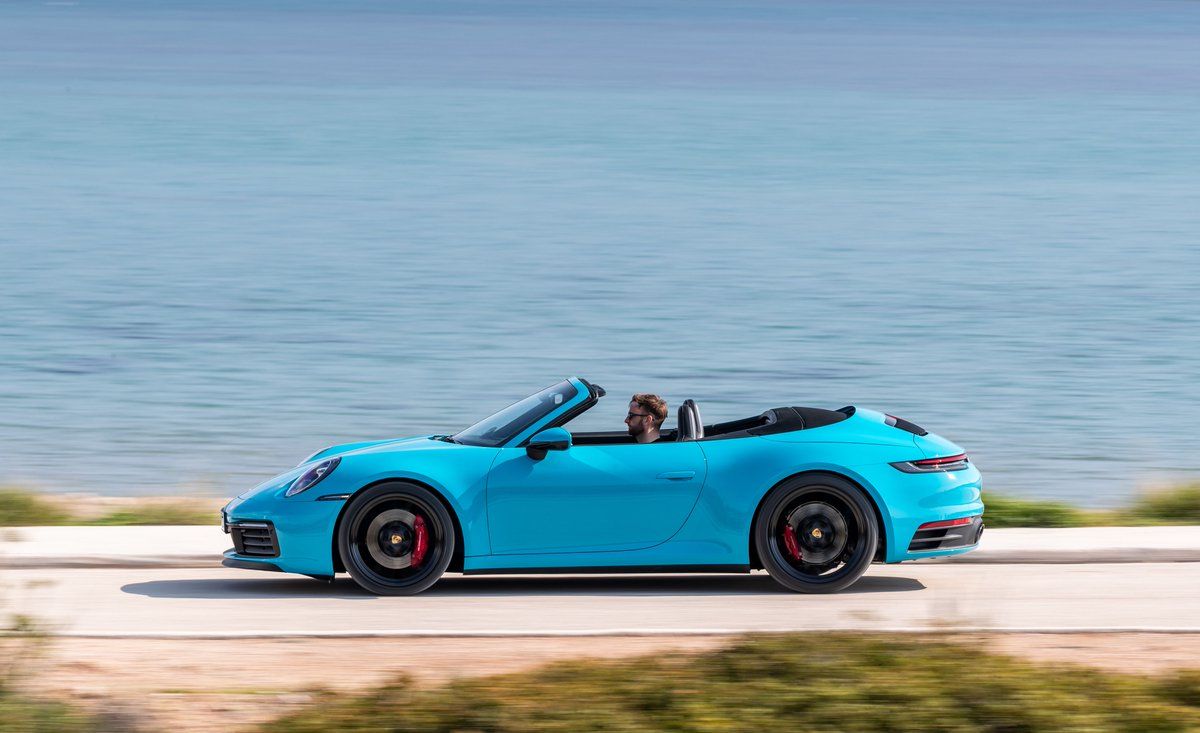Car And Driver On Twitter The 2020 Porsche 911 Carrera S Cabriolet Drowns Its Driver In Sun Speed And A Curiously Tall Body Https T Co A69nqxcncm Https T Co 4rfg6rix52