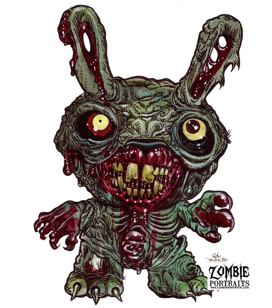 Картинки зомби зайцы