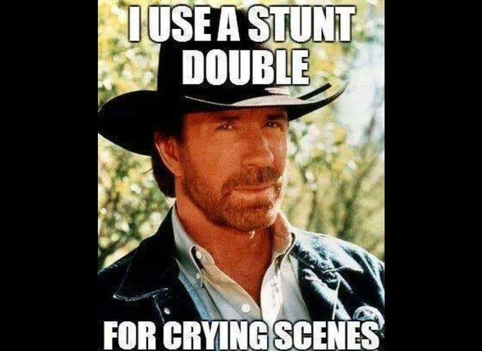 Happy Birthday Chuck Norris!!! You ARE the man!!!