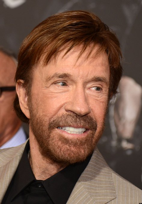 Happy 79th Birthday to martial artist, actor, film producer, and screenwriter, Chuck Norris!