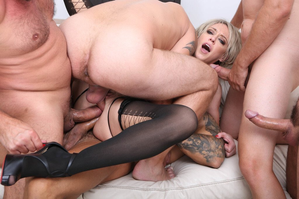 Enormous anal dildo