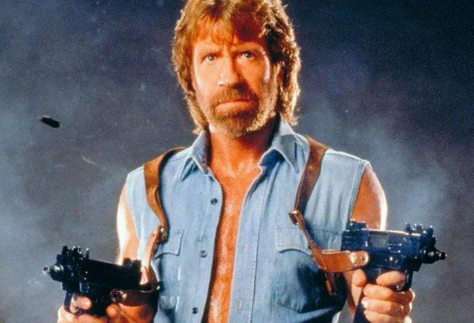 Happy birthday Chuck Norris.