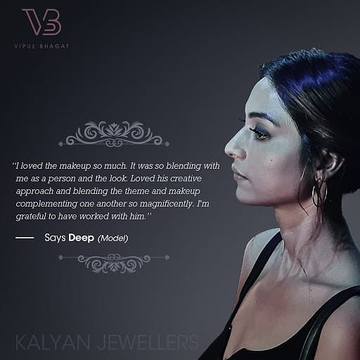 Some woww feedback !!! #kalyanjewellersindia #kalyanjewellers #ethnicmakeupshades #ethnic #styled #indianethnic #makeup #beauty #style #beautycare #economictimes #timesofindia #palladium #pheonix #ethnicmakeuplook #ethnicitymodels #mumbai #makeupmaestro #vipsham #vipulbhagat pic.twitter.com/udW9NkJ1VJ