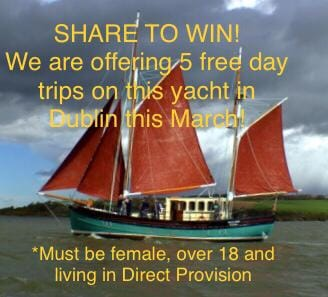 We have 5 FREE day-trips on offer this March! Available to women living in Direct Provision (25-30 March 2019) - trips take place in Dublin - email safehavenireland@gmail.com to apply!