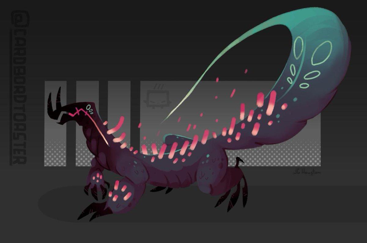 just a doodle a two hour doodle #art #lizard #dragon