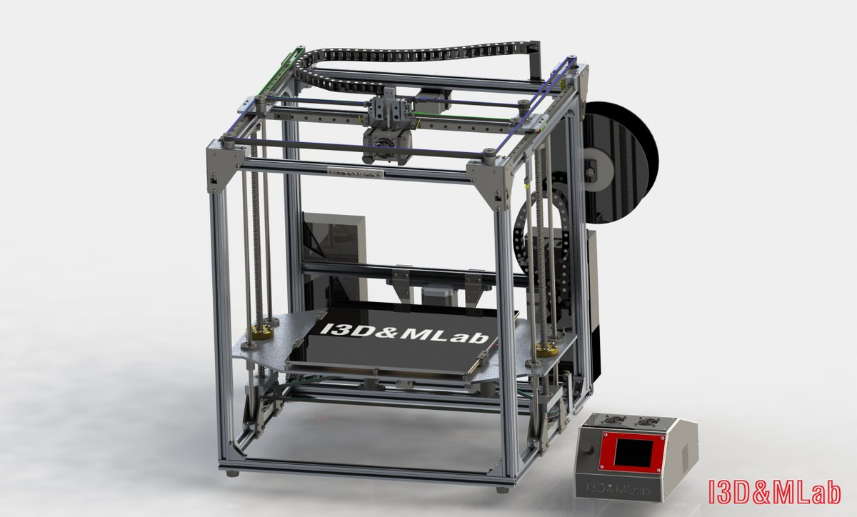 Tronxy X5S 3D printer upgraded with the I3D&