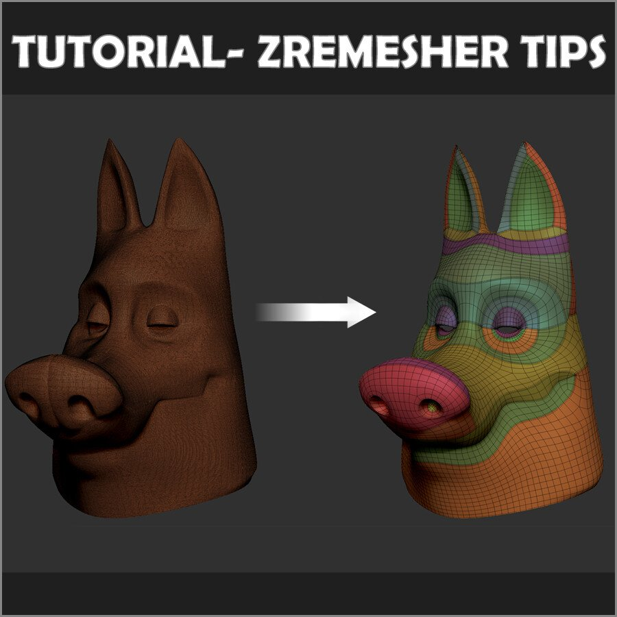retopology on JumPic com