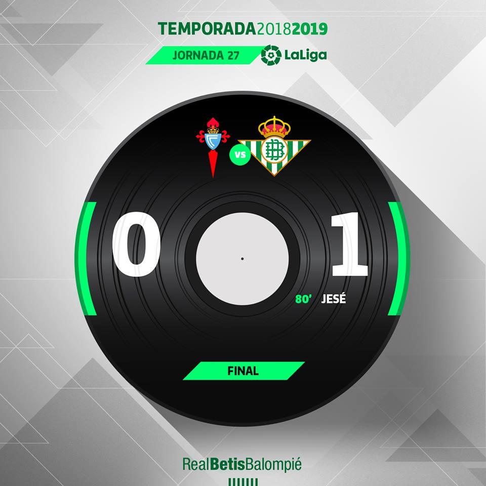 95' ⏱⚽️ ¡¡¡FINAAAAAAAAAL!!! 👏👏👏 ¡Final del partido con victoria verdiblanca!