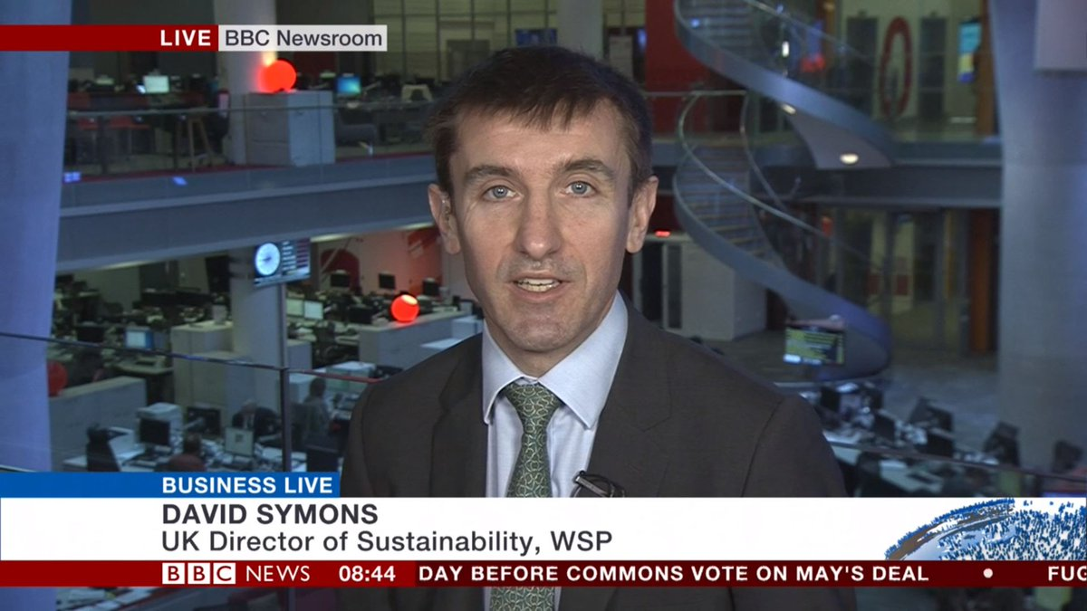 Great to share our @wsp view that sustainability is a tremendous business innovation opportunity with @BBCWorld this morning.  #SolveDifferent #futureready #Sustainability