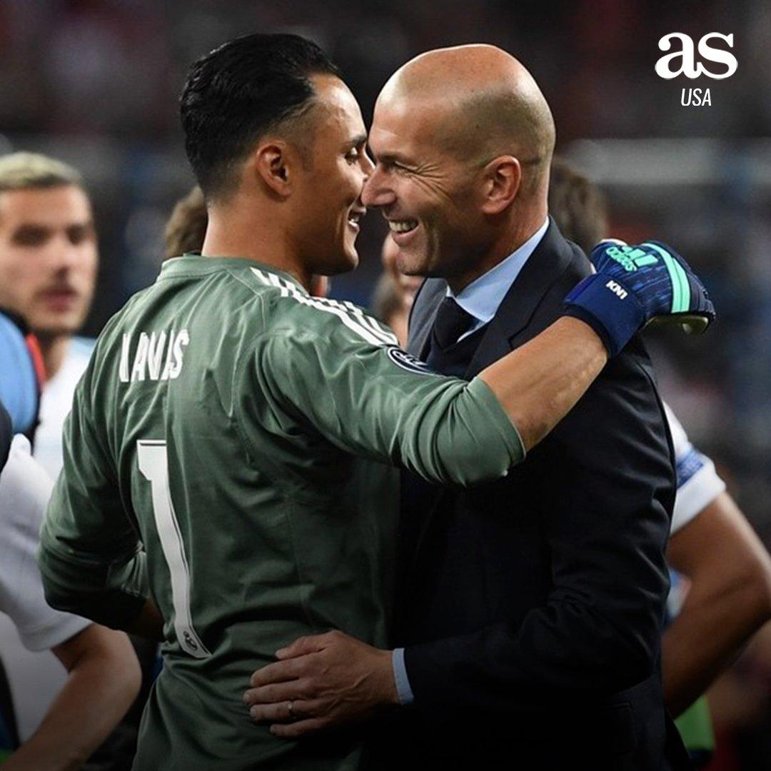 Con el regreso de Zidane al Real Madrid, ¿qué pasará con Keylor Navas?   🔃 Será titular 💙 Será suplente  💬 Saldrá en verano https://t.co/gR0yKcY1fc