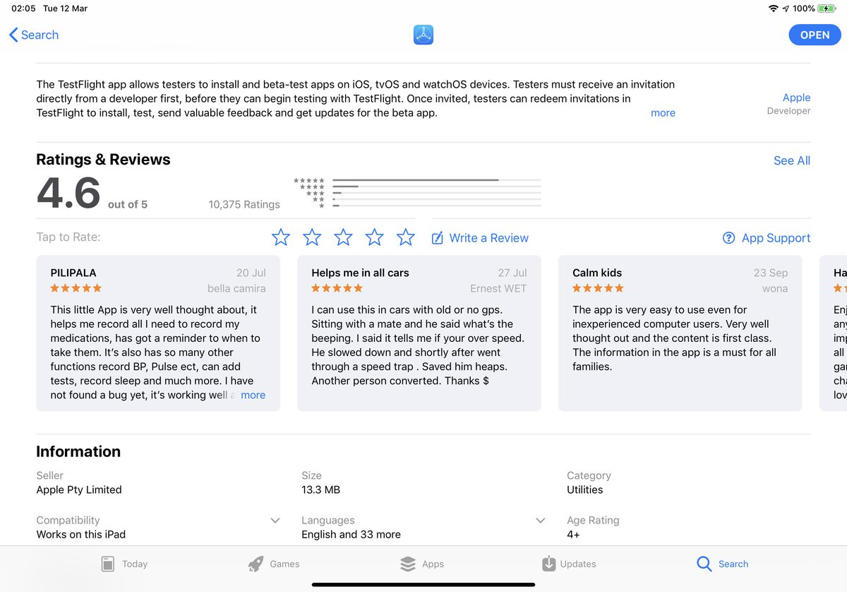 Im Apples Updated Testflight – Lylc