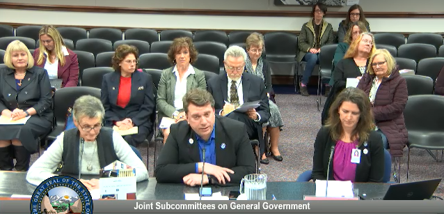 In case you missed our testimony to the Senate Finance Committee, you can watch it online and read the testimony here. #nvleg #nvsen  https://www. leg.state.nv.us/App/NELIS/REL/ 80th2019/Budget/6031/Exhibits   … <br>http://pic.twitter.com/YzbUPd4vKD