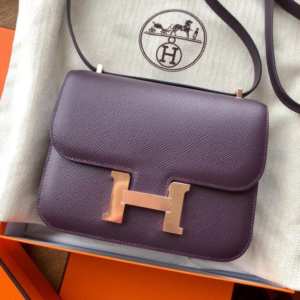 3bcefb8c39d Constance 18 Raisin Epsom RGHW  C  hermes  birkin  kelly  constance   handbags  luxurypic.twitter.com pJVx265dWe