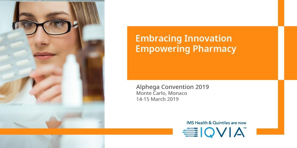 Attending #Alphega2019 next week? Visit us at the #IQVIA booth and find out more on how you can innovate to improve results with our #pharmacy solutions -                      w/ @alphegapharmacy
