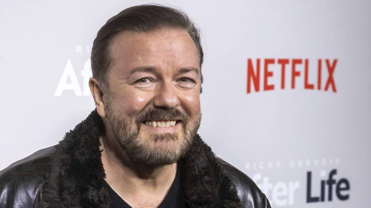 Radio X's photo on Ricky Gervais