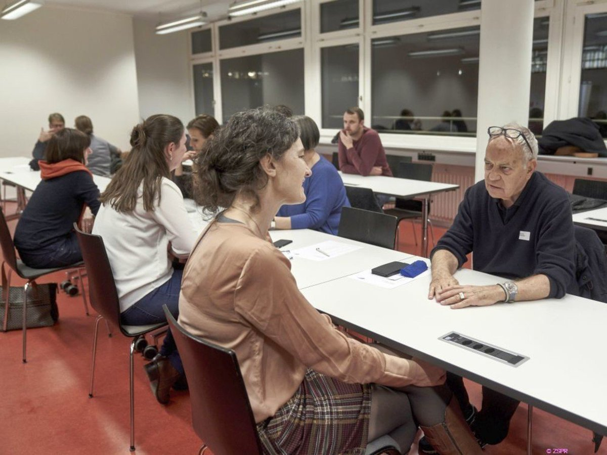 Speed-Dating lausanne 2014