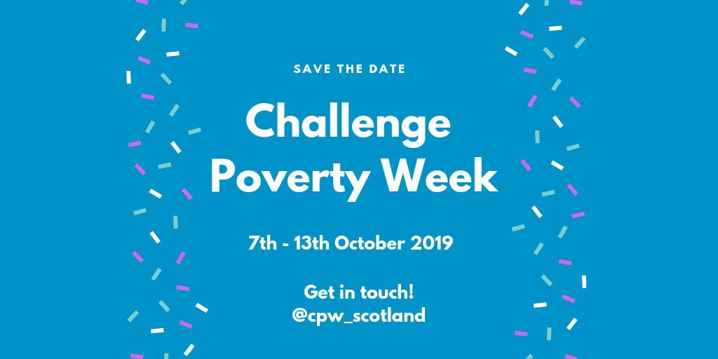 Poverty Creates Extra Challenges It >> Challenge Poverty Week Cpw Scotland Twitter