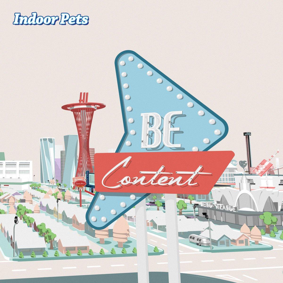 Stream @IndoorPets's debut album, 'Be Content' now 🎉🎉🎉 #TGE19 spoti.fi/2TEsq6C