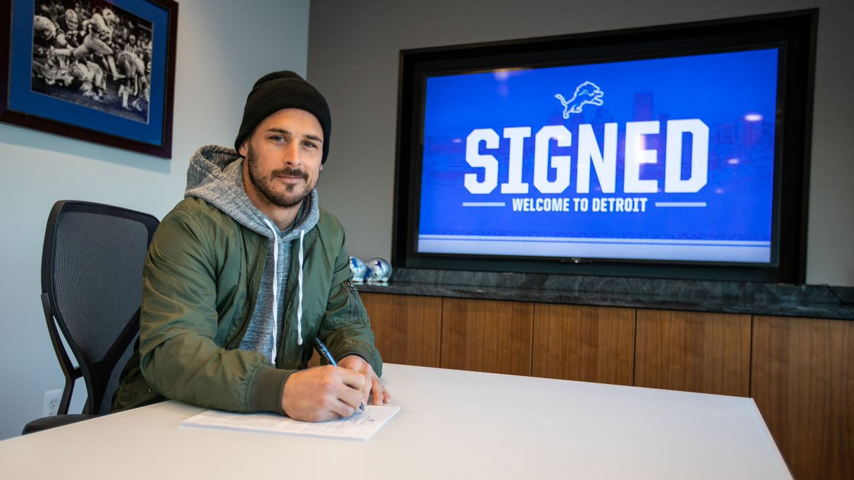 #Lions sign free agent wide receiver Danny Amendola: http://bit.ly/2EVod4T