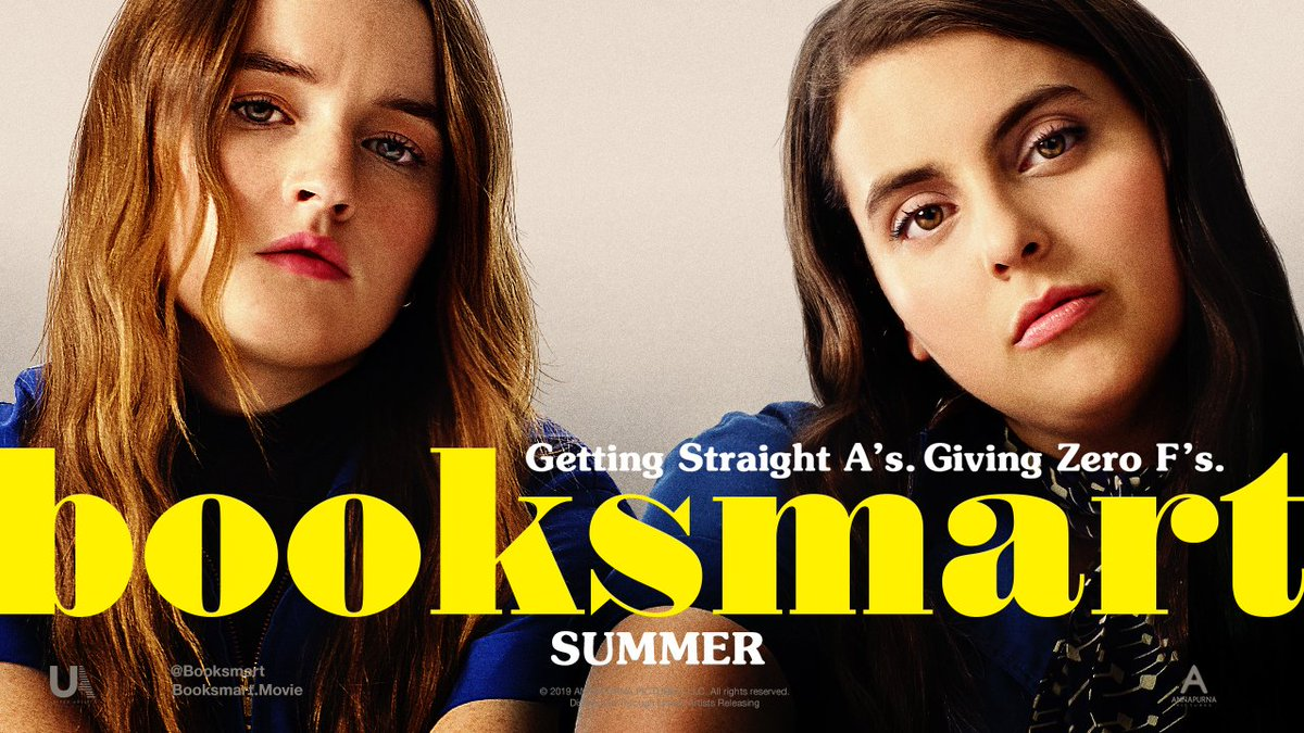 I was #blessed enough to watch #BooksmartMovie early and omg it's hysterical. @BeanieFeldstein & @KaitlynDever, you ladies are awesome  Thank you @oliviawilde for directing this genius film @Booksmart
