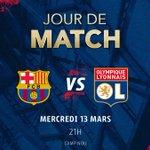 🔴 JOUR DE MATCH 🔵   ⚽ #FCBOL 📅 8ème de finale retour de la @ChampionsLeague ⏰ 21h00  🏟 Camp Nou 📺 @RMCsport