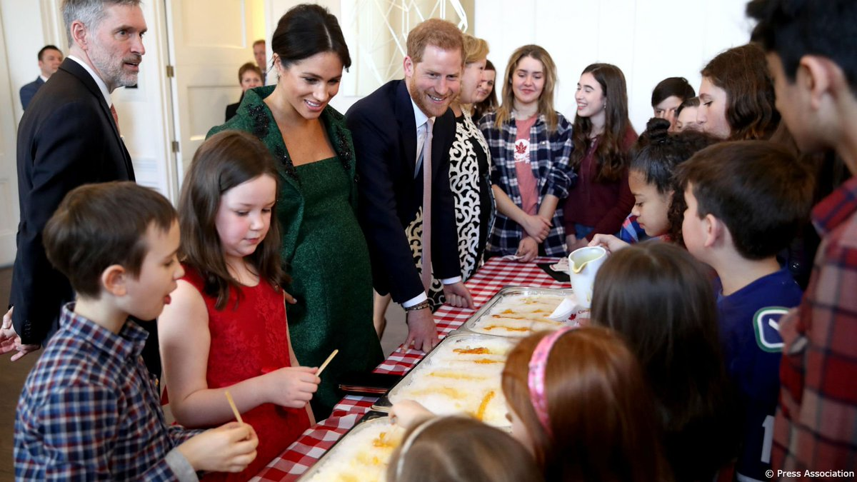 The Royal Family's photo on The Duke and Duchess of Sussex