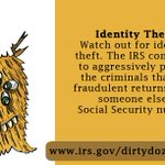 Image for the Tweet beginning: Remember that identity thieves constantly